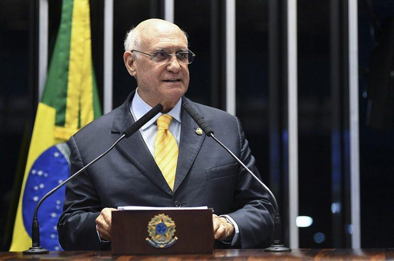 Senador Lasier Martins (Podemos-RS) é o autor do PL – Foto: Jefferson Rudy/Agência Senado