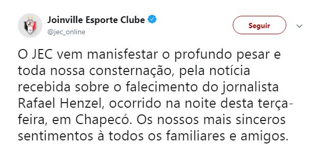 Joinville - Reprodução/ND