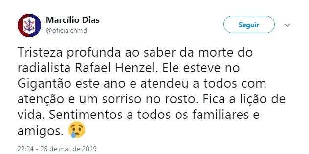 Marcílio Dias - Reprodução/ND