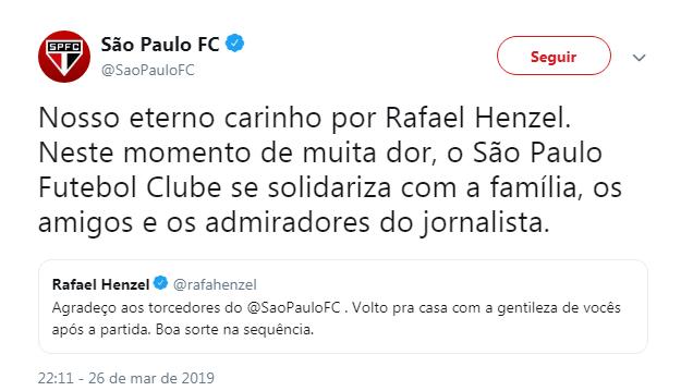 São Paulo - Reprodução/ND