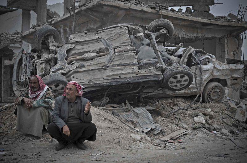 """Trabalho do fotojornalista Alexandre Auler, realizado na cidade curda-síria de Kubanî. Ele ministrará o workshop """"Visual Storytelling"""", de21 e 22 de março, das 14h às 18h, no CIC – Alexandro Auler/Divulgação/ND"""