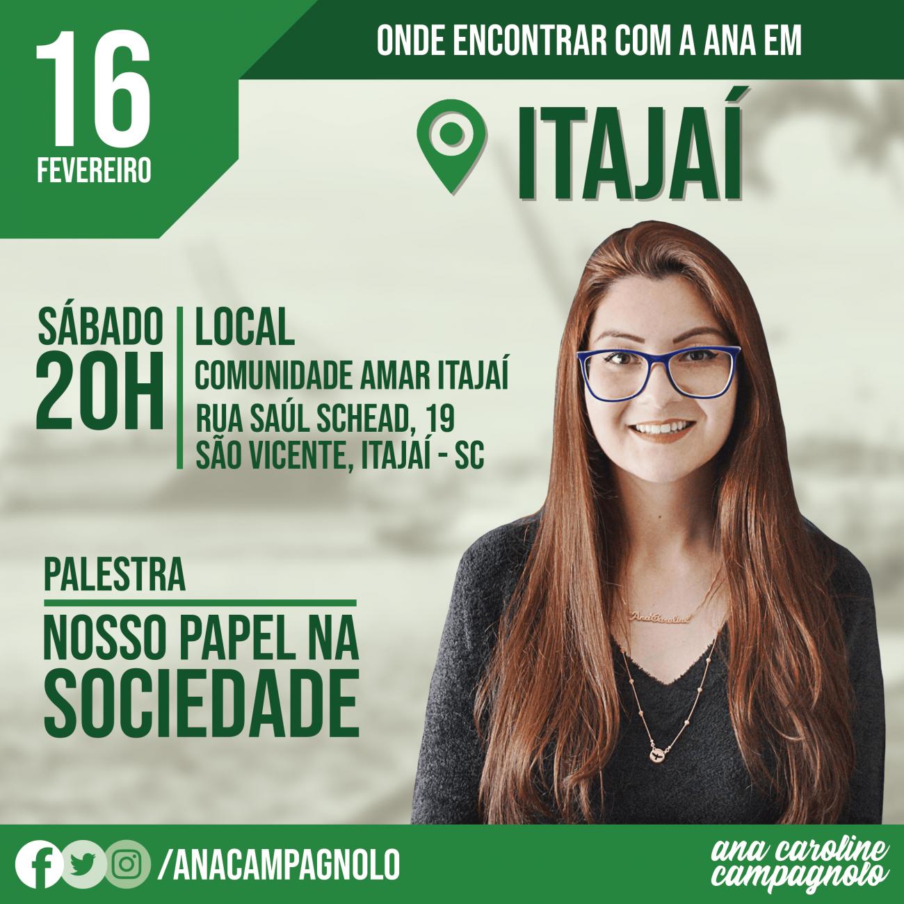 16/02 Itajaí - Reprodução/ND