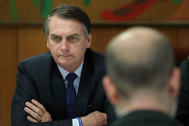 Presidente da República, Jair Bolsonaro irá se reunir com embaixadores de países muçulmanos nesta quarta-feira. Foto: Marcos Corrêa/PR