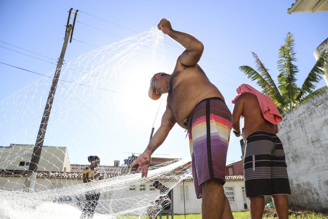 Arrasto de praia é modalidade mais antiga da captura da tainha no litoral catarinense - Anderson Coelho/ND