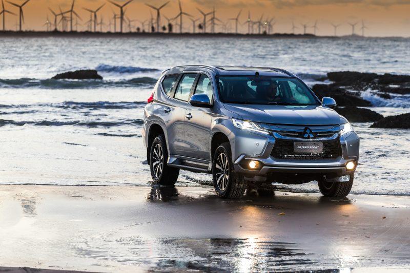 Modo Off-Road do SUV permite trafegar na água, cascalho, lama, areia ou rocha. Tom Papp/Mitsubishi/Divulgação/ND