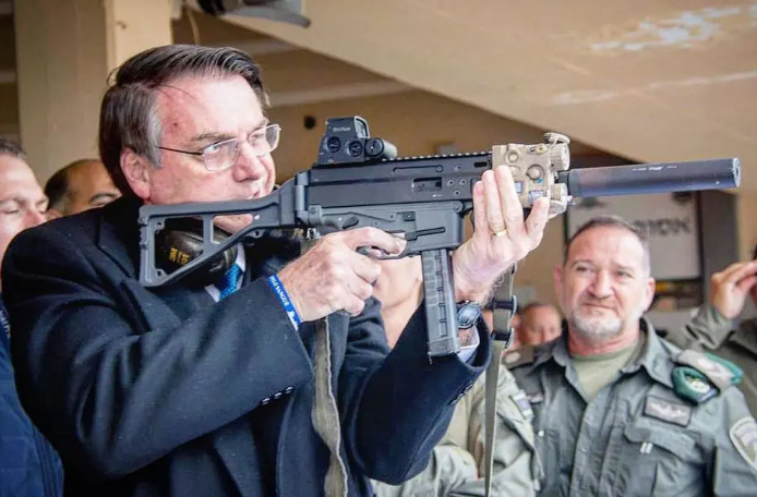 Plenário do STF dará decisão final sobre decretos de Bolsonaro para facilitar armamento – Foto: Reprodução/Instagram