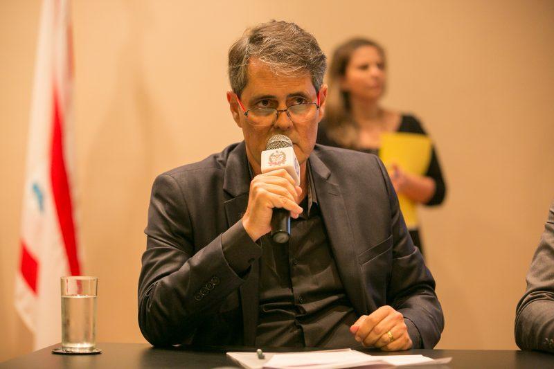 André Motta Ribeiro se reúne virtualmente com representantes de vacinas – Foto: Rodolfo Espínola/Agência AL/ND