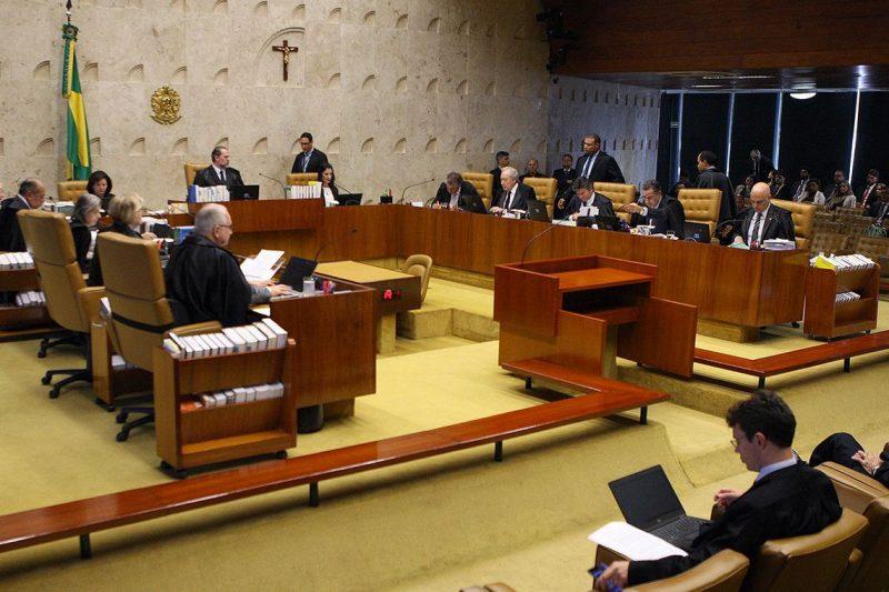 Plenário do Supremo Tribunal Federal (STF) decidiu derrubar o sigilo dos gastos presidenciais por 6 votos a 5 – Foto: Nelson Jr./SCO/STF/ND