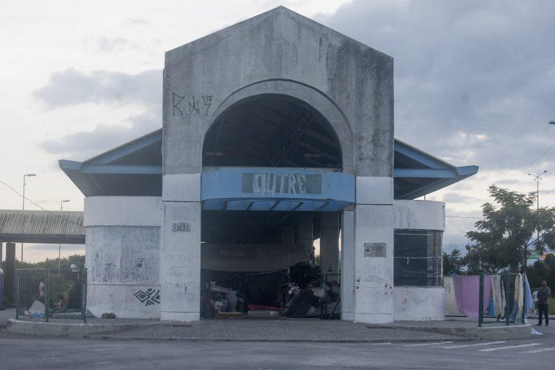 Terminal de Integração do Saco dos Limões, abrigo temporário de indígenas – Flavio Tin/ND