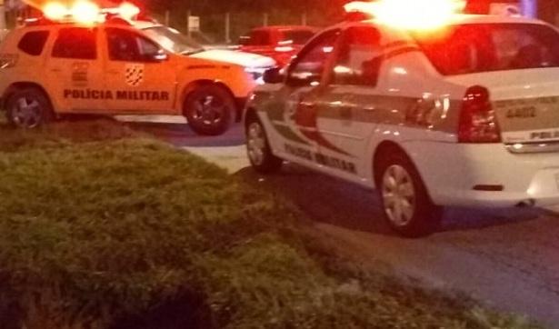 Invasão e tiroteio em condomínio residencial de Joinville