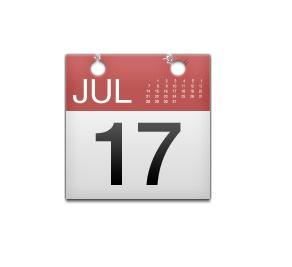 Por qual razão que o emoji do calendário sempre marca o dia 17 de julho? Foi justamente nessa data, em 2002, que Steve Jobs anunciou o iCal para os Macs, que é o aplicativo de calendário exclusivo para os computadores da marca. - Crédito: Reprodução/Emojipedia /33Giga/ND