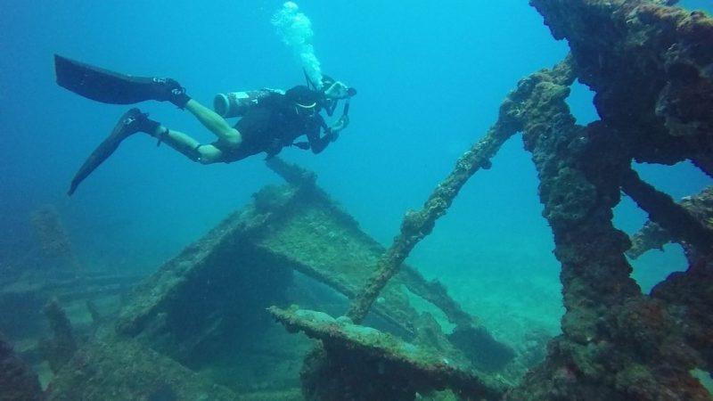 Fotos de navios e destroços no fundo do mar - Pixabay - Pixabay/Rota de Férias/ND