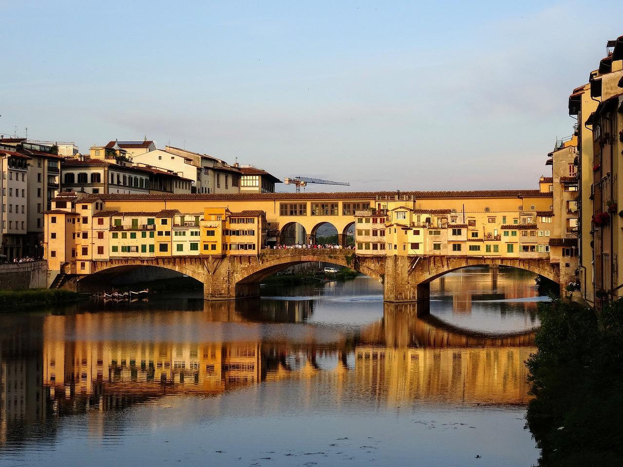 Ponte Vecchio, Florença - christian hardi por Pixabay - christian hardi por Pixabay/Rota de Férias/ND