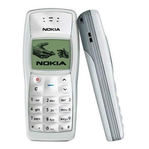Os celulares mais vendidos de todos os tempos: 1. Nokia 1100 – Lançado em 2003, vendeu mais de 250 milhões de unidades - Crédito: Divulgação/33Giga/ND
