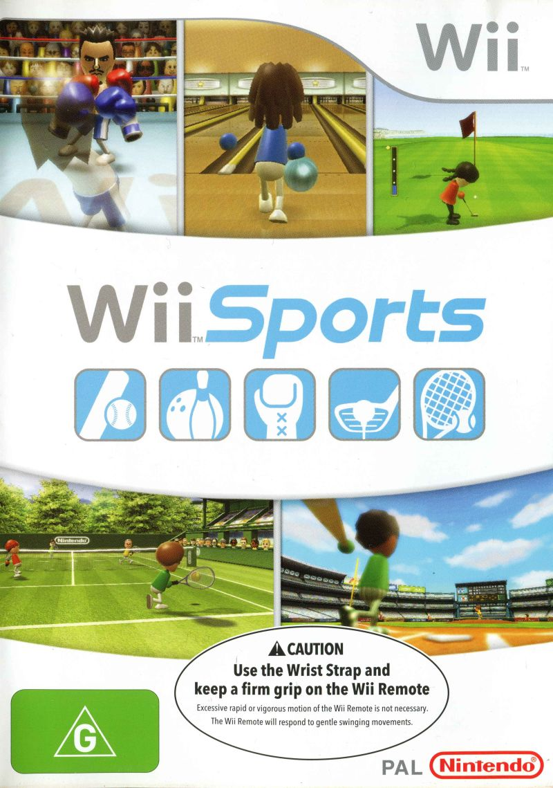 Confira os 50 jogos de videogame mais vendidos de todos os tempos de acordo com o VGChartz.1. Wii Sports (2006) – 82 milhões de cópias - Crédito: Divulgação/33Giga/ND