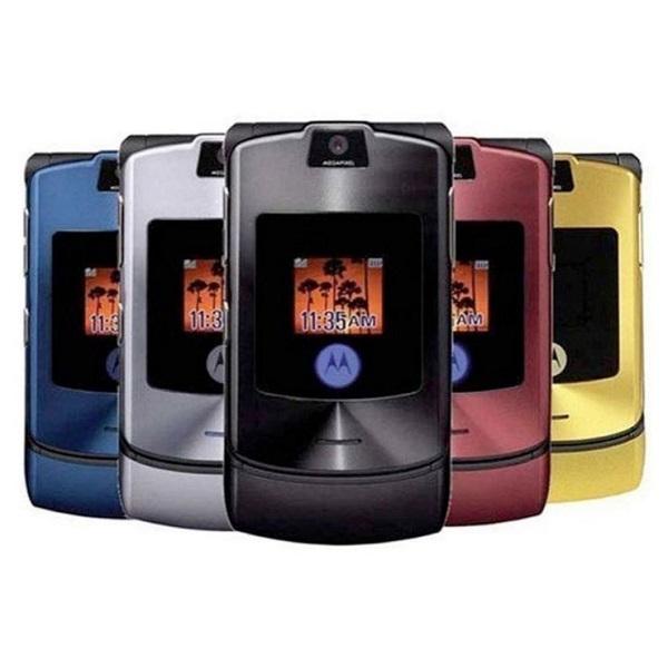 10. Motorola RAZR V3 – Lançado em 2004, vendeu mais de 130 milhões de unidades - Crédito: Divulgação/33Giga/ND