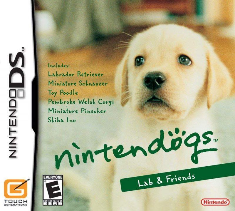 11. Nintendogs (2005) – 24 milhões de cópias - Crédito: Divulgação/33Giga/ND