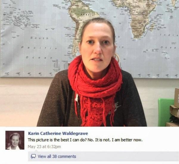 A moça também comentava as próprias postagens — uma delas chegou a ter 700 comentários feitos em um período de 12 horas. Atualmente, a página não existe mais e ninguém conseguiu descobrir quem era Karin. - Crédito: ytiming/33Giga/ND