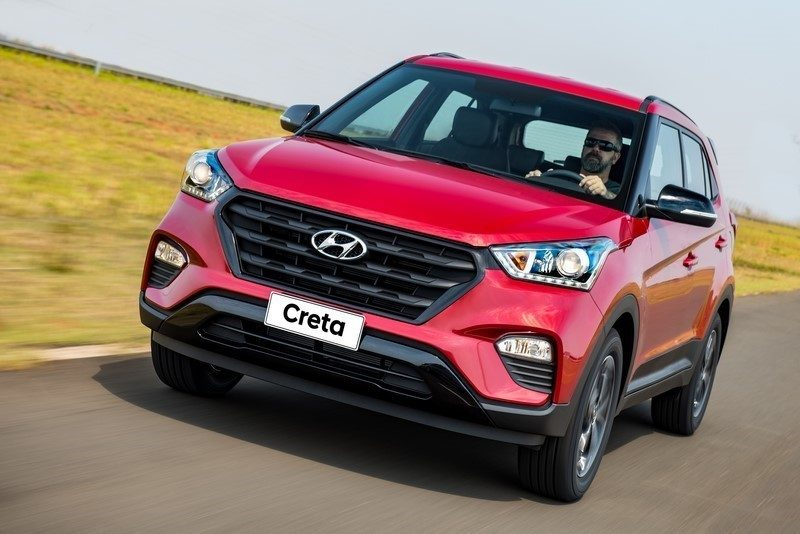 Hyundai Creta: 33 psi para até três pessoas e 36 psi para carga total - Foto: Divulgação - Foto: Divulgação/Garagem 360/ND