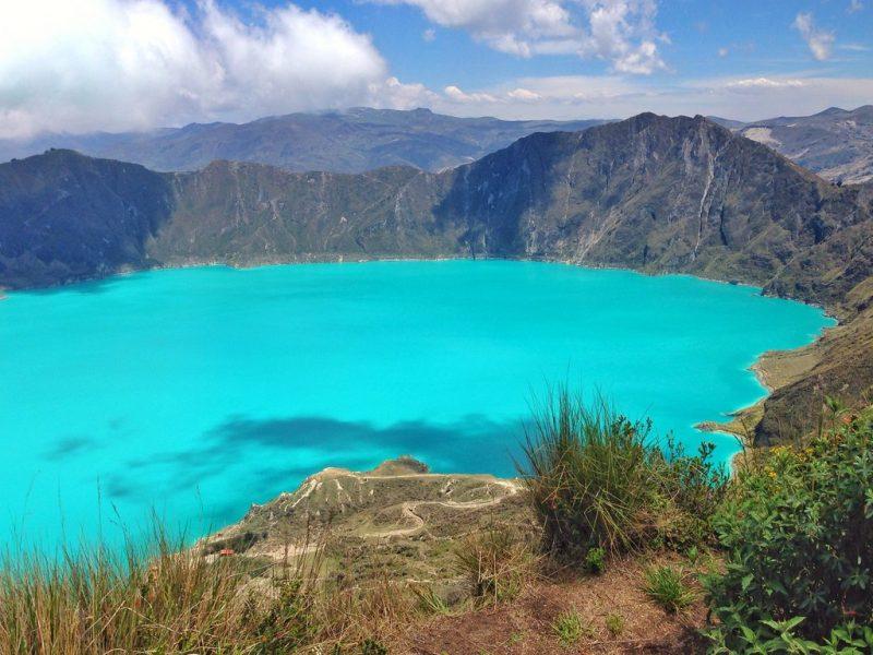 Vulcão Quilotoa, Equador - _Daise on Visualhunt.com / CC BY-NC-SA - _Daise on Visualhunt.com / CC BY-NC-SA/Rota de Férias/ND