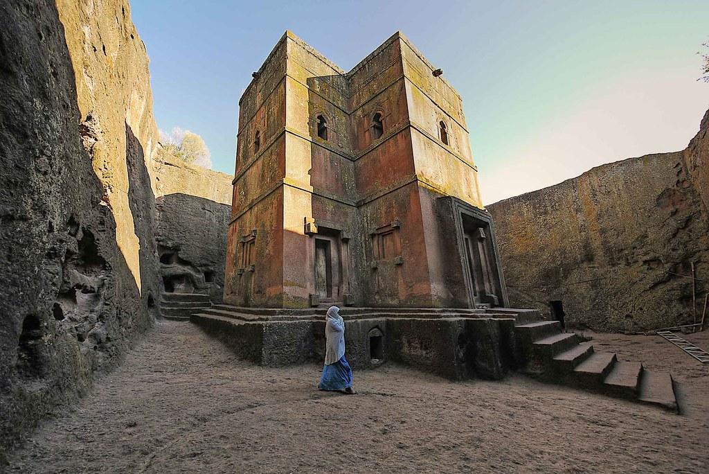 Igrejas Escavadas de Lalibela, Etiópia - Roberto Vallejo on VisualHunt.com / CC BY-NC-SA - Roberto Vallejo on VisualHunt.com / CC BY-NC-SA/Rota de Férias/ND