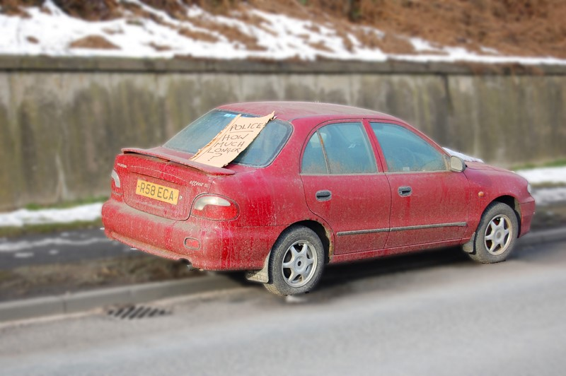 Há até um cartaz para a polícia neste Hyundai Accent - Foto: Identity Photogr@phy via VisualHunt / CC BY - Foto: Identity Photogr@phy via VisualHunt / CC BY/Garagem 360/ND