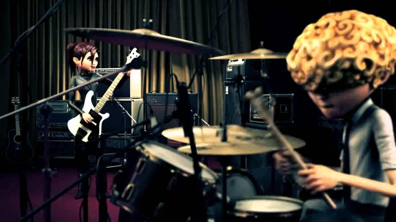"""Confira o videoclipe de """"Dont Lose It"""", um dos primeiros sucessos da banda virtual: https://bit.ly/2NfauvX. - Crédito: Reprodução YouTube/33Giga/ND"""