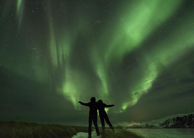 A região de Kirkjubaejarklaustur é uma das melhores para avistar a aurora na Finlândia - Kristofer Williams via Visual hunt / CC BY-NC-ND - Kristofer Williams via Visual hunt / CC BY-NC-ND/Rota de Férias/ND