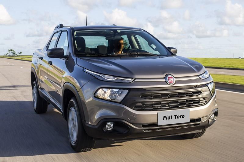12º- Fiat Toro: 17.827 unidades - Foto: Divulgação - Foto: Divulgação/Garagem 360/ND