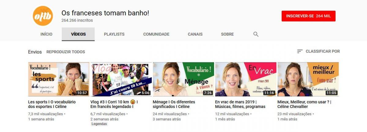 6. Os franceses tomam banho! (http://bit.ly/2VArCAA) - Crédito: Reprodução YouTube/33Giga/ND
