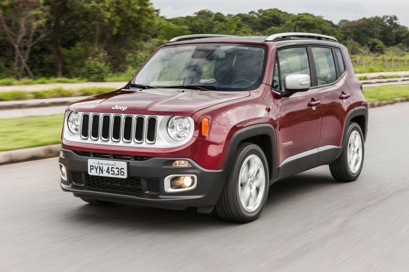 Jeep Renegade: 35 psi nos pneus dianteiros e 32 psi nos pneus traseiros - Foto: Divulgação - Foto: Divulgação/Garagem 360/ND