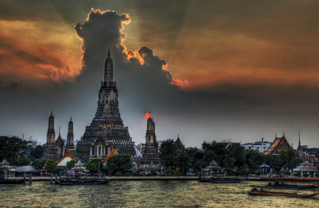 Wat Arun, Tailândia - Trey Ratcliff on Visual Hunt / CC BY-NC-SA - Trey Ratcliff on Visual Hunt / CC BY-NC-SA/Rota de Férias/ND