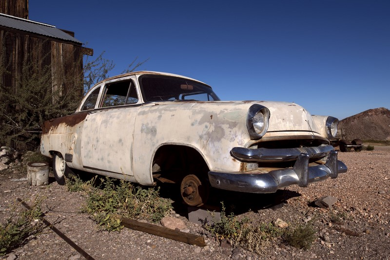 Fabricado nos anos 50, este Ford Customline está longe de sua melhor forma - Foto: Curtis Gregory Perry via Visual Hunt / CC BY-NC-SA - Foto: Curtis Gregory Perry via Visual Hunt / CC BY-NC-SA/Garagem 360/ND
