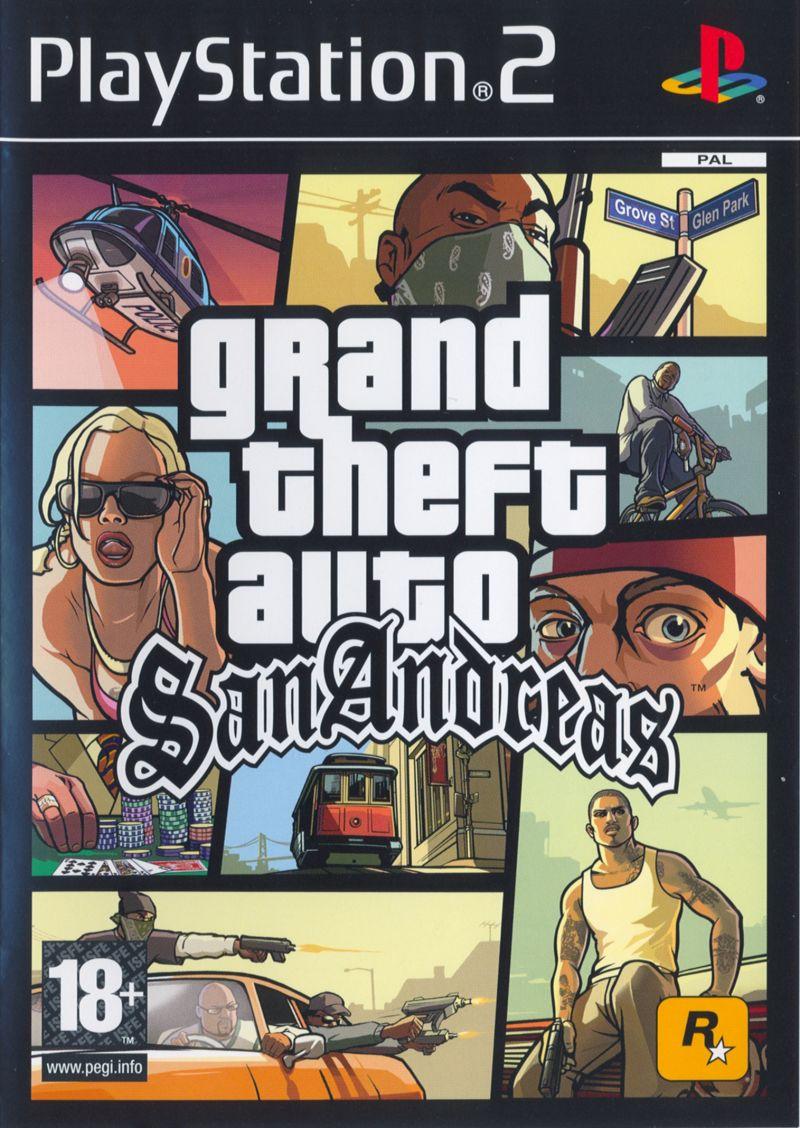17. Grand Theft Auto: San Andreas (2004) – 20,8 milhões de cópias - Crédito: Divulgação/33Giga/ND