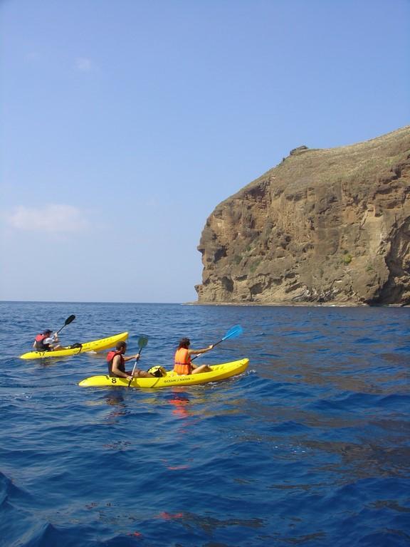 Passeio de caiaque na região de Garajau - Divulgação/ Turismo da Madeira - Divulgação/ Turismo da Madeira/Rota de Férias/ND