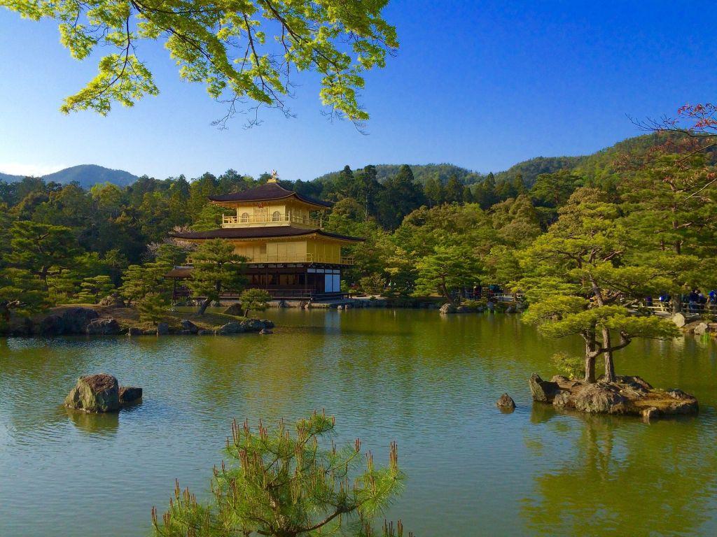 Templo do Pavilhão Dourado, Japão - Pixabay - Pixabay/Rota de Férias/ND