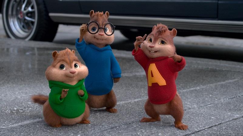Alvin e os Esquilos – Com vozes manipuladas e bem agudas, Alvin e os Esquilos apareceram pela primeira vez em 1958. À época, foi lançado um disco dos personagens. Só três anos depois surgiu o desenho