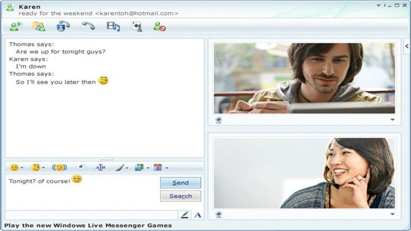 1999 – É lançado o programa de mensagens instantâneas MSN Messsenger. - Crédito: Reprodução /33Giga/ND