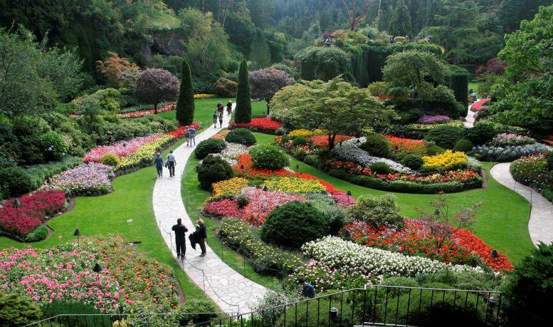 Com jardins temáticos e mais de 700 espécies de plantas, o Butchart Gardens é uma atração imperdível a alguns minutos de Victoria, no Canadá - darth_mehal via VisualHunt / CC BY-NC-ND - darth_mehal via VisualHunt / CC BY-NC-ND/Rota de Férias/ND