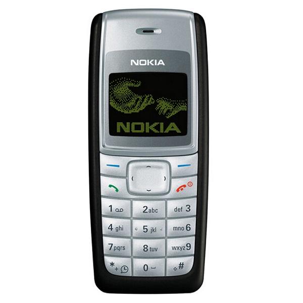 2. Nokia 1110 – Lançado em 2005, vendeu mais de 250 milhões de unidades - Crédito: Divulgação/33Giga/ND