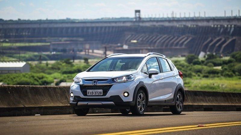 Honda WR-V: 32 psi nos pneus dianteiros e 30 psi nos pneus traseiros - Foto: Divulgação - Foto: Divulgação/Garagem 360/ND