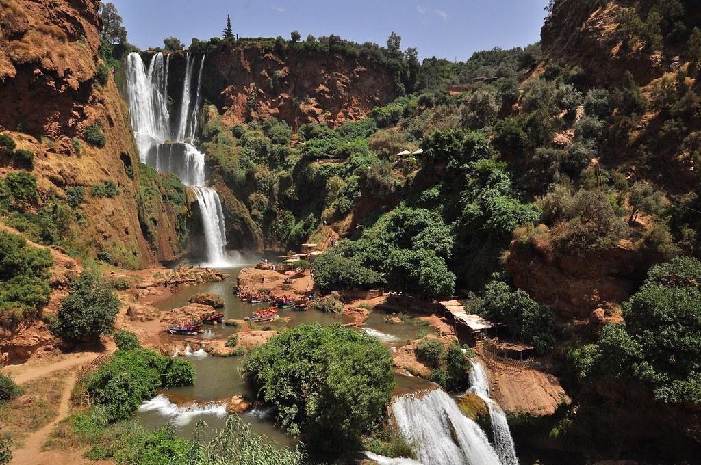 Cascatas de Ouzoud, Marrocos - Mário Tomé on Visual Hunt / CC BY-NC-SA - Mário Tomé on Visual Hunt / CC BY-NC-SA/Rota de Férias/ND