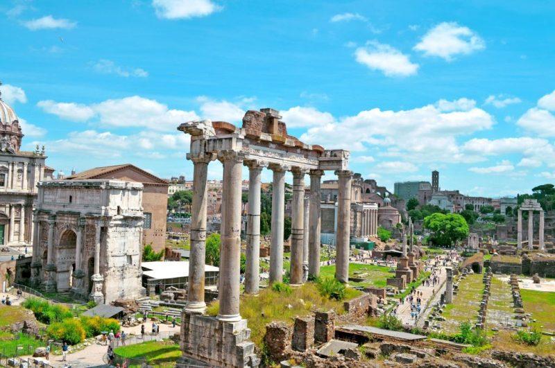 Fórum Romano, Itália - Pixabay - Pixabay/Rota de Férias/ND