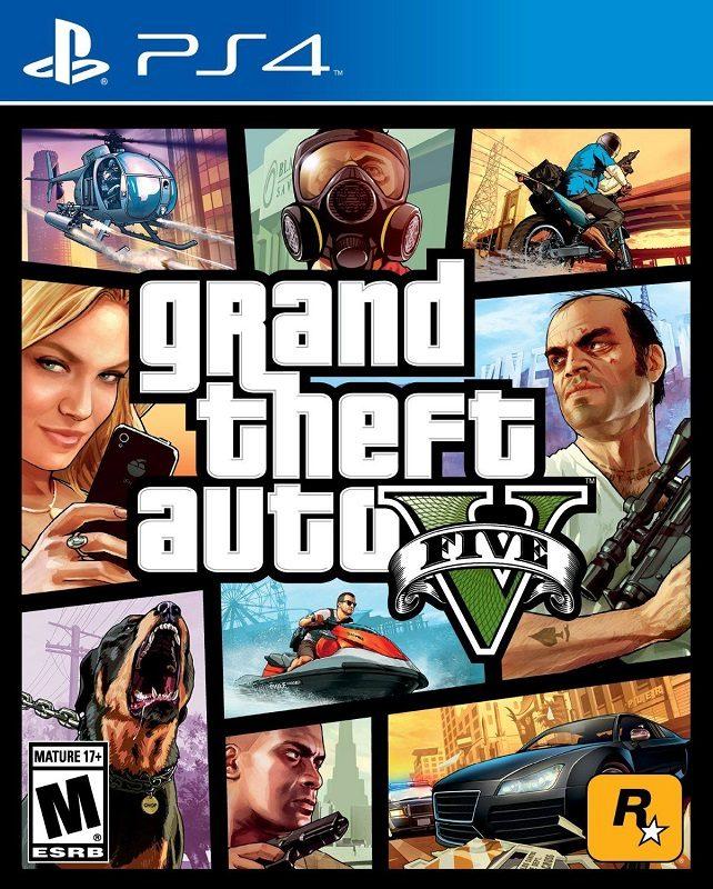 21. Grand Theft Auto V, para PS4 (2014) – 18,7 milhões de cópias - Crédito: Divulgação/33Giga/ND