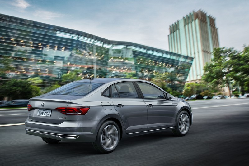 21º- Volkswagen Virtus: 13.246 unidades - Foto: Divulgação - Foto: Divulgação/Garagem 360/ND