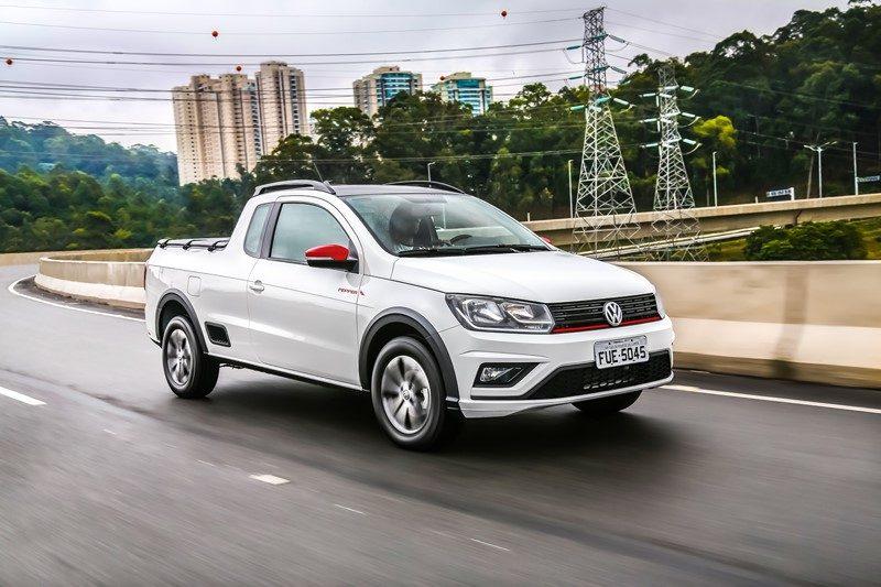 22º- Volkswagen Saveiro: 12.045 unidades - Foto: Divulgação - Foto: Divulgação/Garagem 360/ND