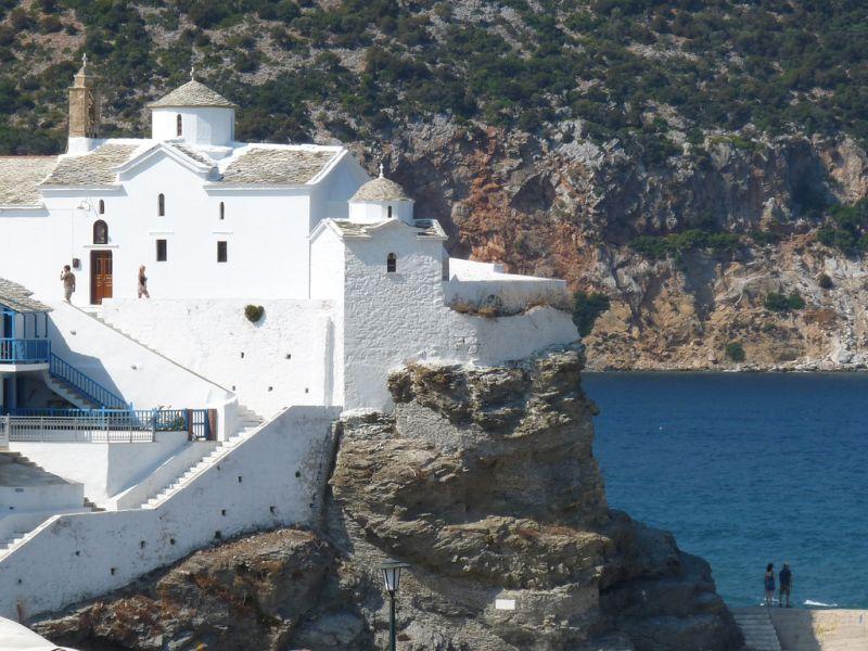 """O famoso musical """"Mamma Mia!"""" (2008) se passa na maravilhosa Ilha de Skopelos, na Grécia - Eva Freude via Visualhunt / CC BY-NC-SA - Eva Freude via Visualhunt / CC BY-NC-SA/Rota de Férias/ND"""