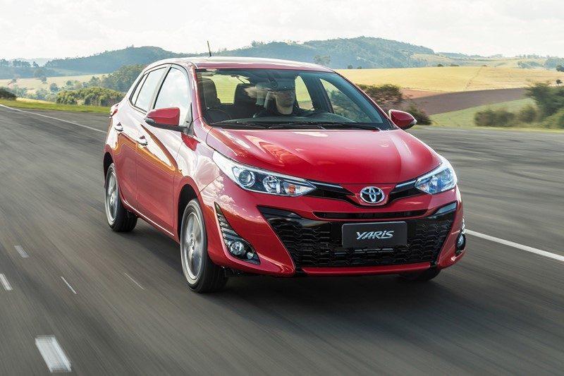23º- Toyota Yaris: 11.947 unidades - Foto: Divulgação - Foto: Divulgação/Garagem 360/ND