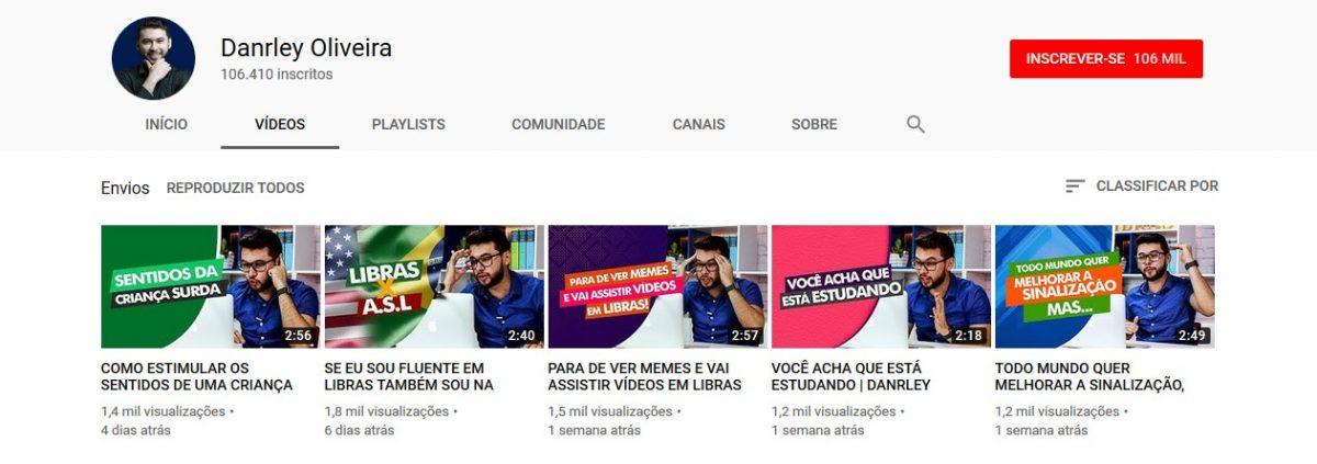 16. Danrley Oliveira (http://bit.ly/2UNo89v) - Crédito: Reprodução YouTube/33Giga/ND