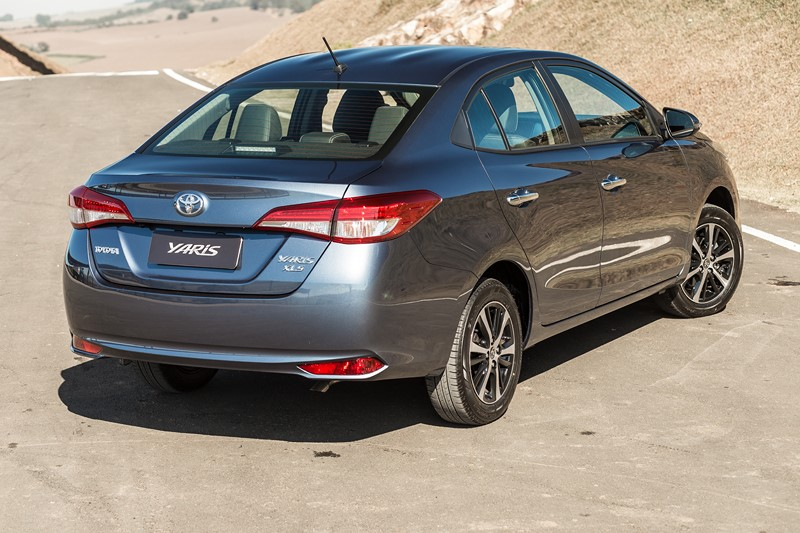 24º- Toyota Yaris Sedan: 10.525 unidades - Foto: Divulgação - Foto: Divulgação/Garagem 360/ND